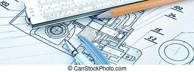 industrial, desenho