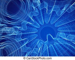 industrial design concept - Background industrial design....
