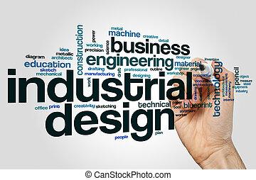 Industrial design word cloud