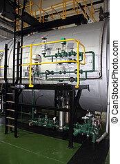 Industrial duel fuel steam boiler - Industrial duel fuel...