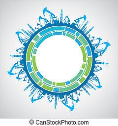 Industrial earth sphere