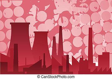 industrial, edifícios