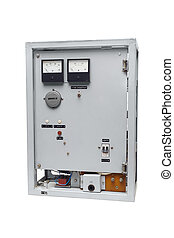Industrial electrical overload protection equipment.