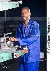 industrial employee