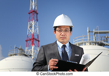 industrial engineer chemical plant
