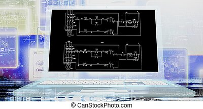 Industrial engineering designing