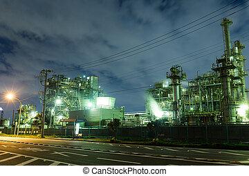 industrial, escena