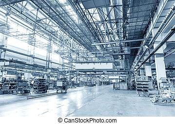 industrial, espaço