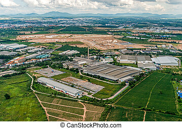 Industrial Estate Land Development and Residential