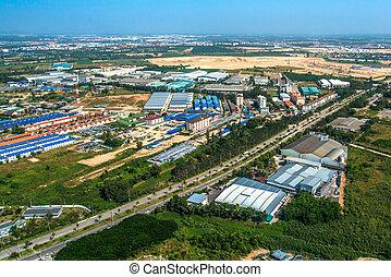 Industrial estate residential land development in Asia