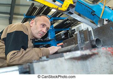industrial factory worker