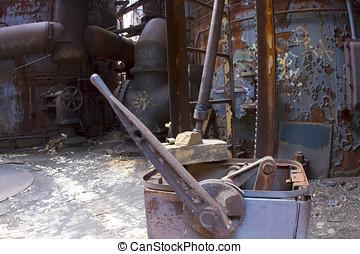 industrial, ferrugem