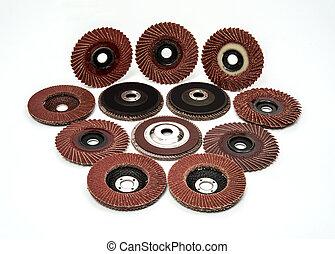 Industrial Flap Sanding Grinding Discs Polishing Wheels