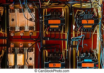 industrial fuse box on the wall stock photo_csp13445945 stock photo of industrial fuse box on the wall closeup photo industrial fuse box at beritabola.co