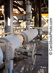 Industrial gas and oil pipelines
