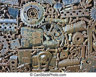 Industrial Gear Texture