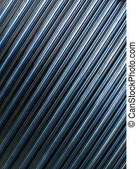 industrial, girado, brilhante, fundo, varas, diagonal, cnc, configuração, composição, muitos, geomã©´ricas, apartamento, abstratos