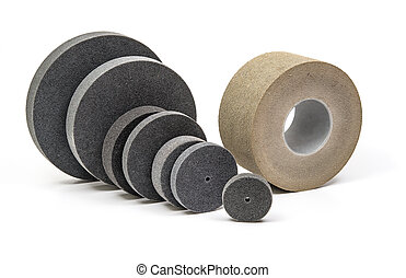 Industrial  grinding and polishing wheels