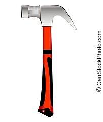 Industrial hammer.