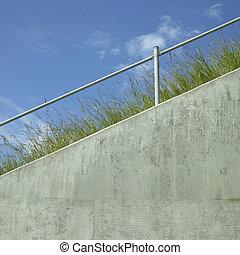 Industrial hand rail