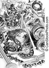 industrial heavy mechanic metal set