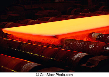 Industrial hot steel coil
