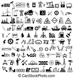 Industrial Icon - easy to edit vector illustration of...