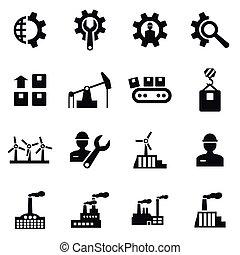 industrial, icono