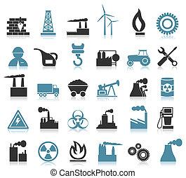 industrial, iconos