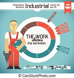 Industrial Infographic Elements