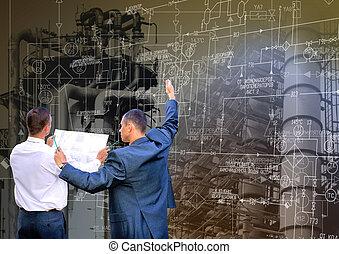 industrial, ingeniería, tecnología