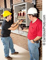 industrial, instrucción trabajo