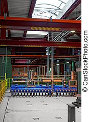 Industrial interior of a generic power plant