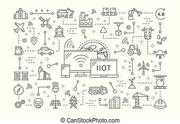Industrial internet of things.