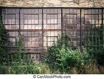 industrial, janelas
