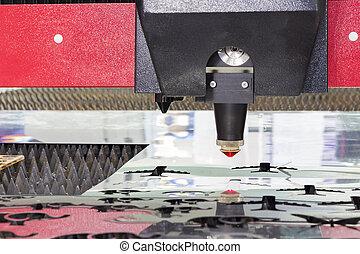 Industrial laser cutting Head
