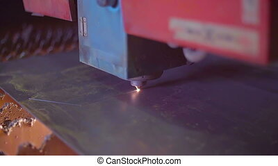 Industrial Laser Cutting Processing Manufacture Technology...