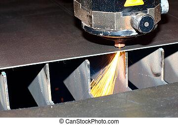 Industrial laser