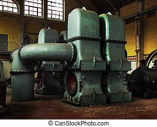 industrial, máquinas