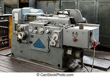 Industrial machine  in the factory