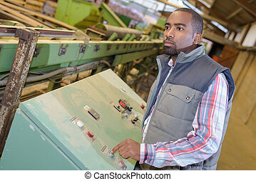 industrial machine operator