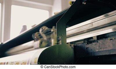 Industrial machinery at workshop video - Industrial...