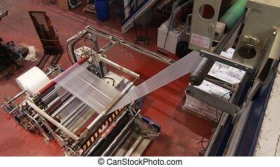 Industrial machines top view