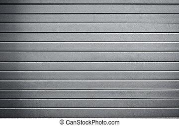 industrial metal door background with dark corners