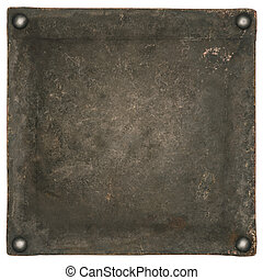 industrial metal plate background