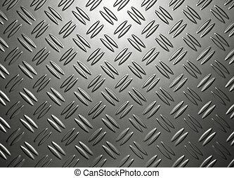 Industrial Metallic Background