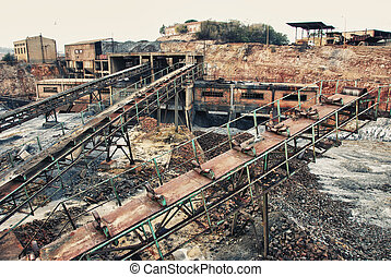 Industrial mine