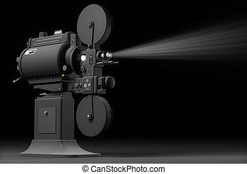 Industrial Movie Projector