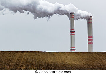 industrial, paisaje