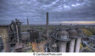 Industrial Park HDR dark